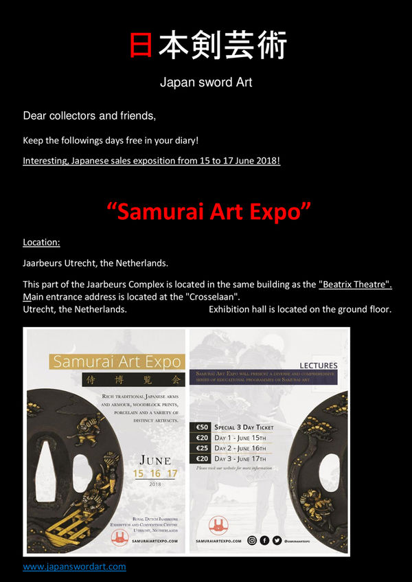 Samurai Art Expo w